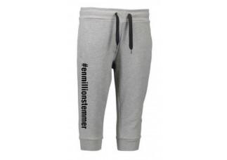 #Enmillionstemmer - Capri sweatpants Dame