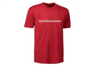#Enmillionstemmer - T-shirt Børn