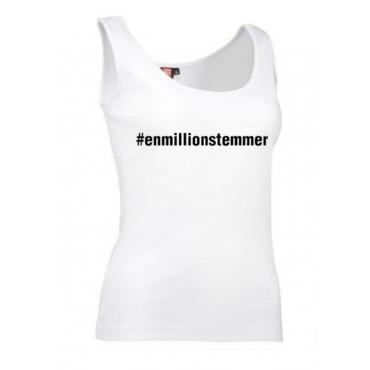 #Enmillionstemmer - Top Dame