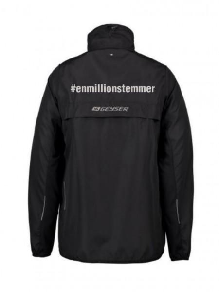 #Enmillionstemmer - Løbejakke Unisex